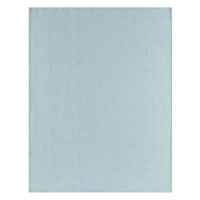 C&F Home Hampton Silver Blue Cotton Quilted Throw : Target