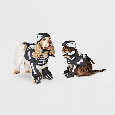 Dino Skeleton LED Frontal Dog and Cat Costume - Hyde & EEK! Boutique™
