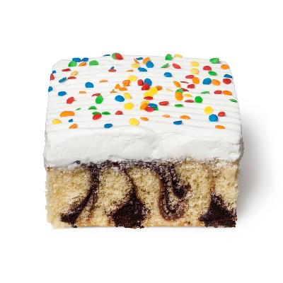 Marble Cake Slice - 6oz - Market Pantry™
