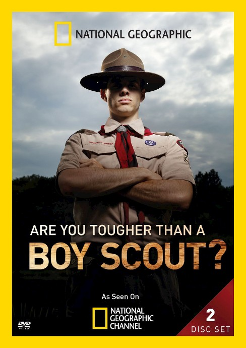 Are you tougher than a boy scout (DVD) - image 1 of 1