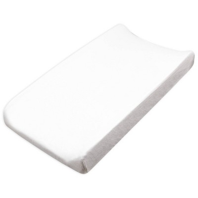 Honest Baby Organic Cotton Baby Terry Changing Pad Cover - Bright White
