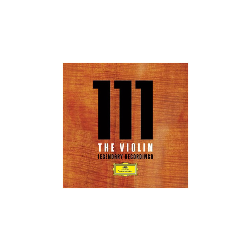 Various - 111 The Violin:Legendary Recordings (CD)