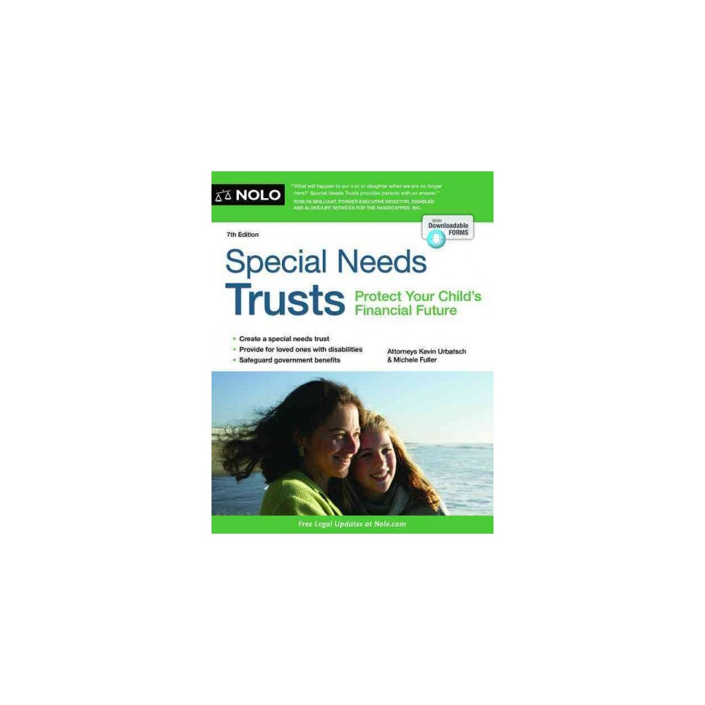Special Needs Trusts : Protect Your Child's Financial Future - (Paperback)