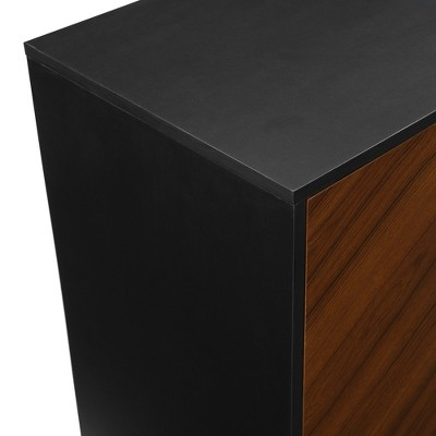 """Bookmatch Asymmetrical Console TV Stand For TVs Up To 65"""" - Saracina Home : Target"""