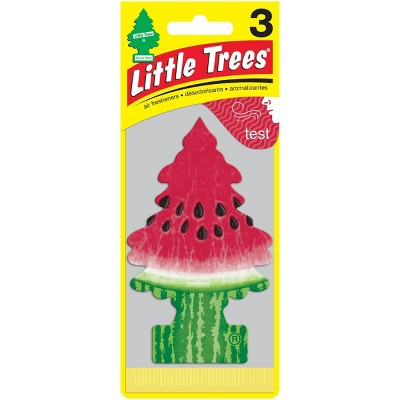 Little Trees 3pk Watermelon Air Freshener