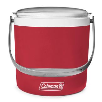 Coleman 9qt Party Circle Cooler - Heritage Red