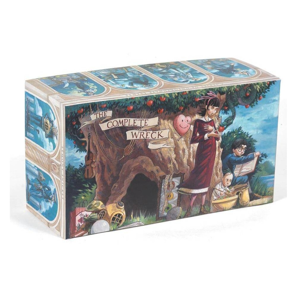 A Series of Unfortunate Events Box: The Complete Wreck (Books 1-13) - (A Unfortunate Events)(Hardcover)