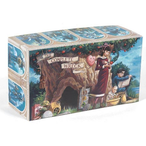 A Series of Unfortunate Events Box: The Complete Wreck (Books 1-13) - (A Unfortunate Events) by  Lemony Snicket (Hardcover) - image 1 of 1