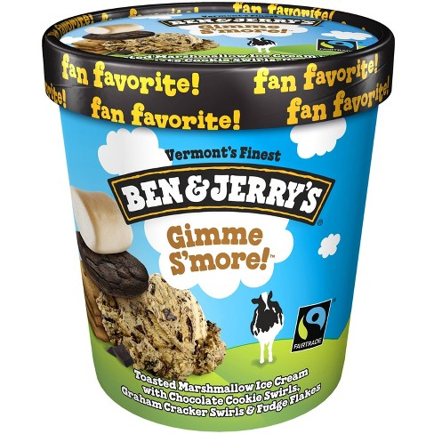 Ben & Jerry's Gimmesmore Ice Cream - 16oz - image 1 of 3
