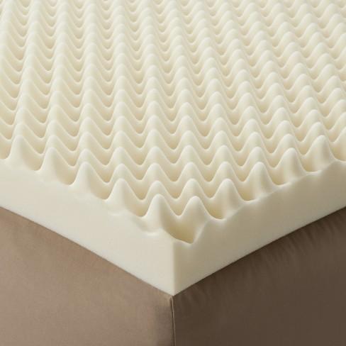 "Enhance Highloft 4"" Memory Foam Topper White - Future Foam - image 1 of 2"