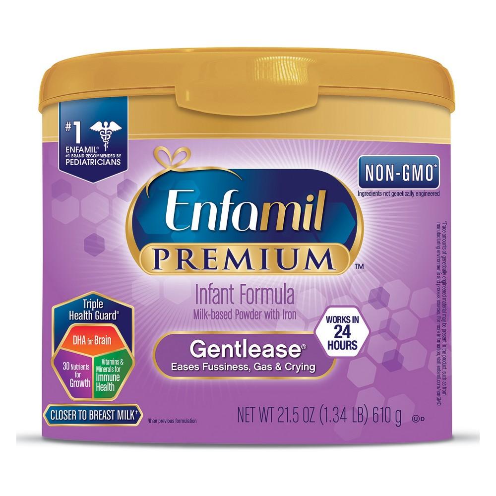Enfamil Gentlease Infant Formula Powder Tub - 21.5oz