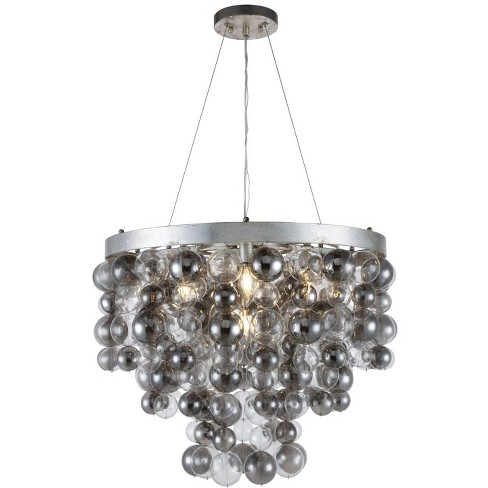 "Elegant Lighting 1531D26 Isabel 7 Light 26-1/2"" Wide Chandelier - image 1 of 1"
