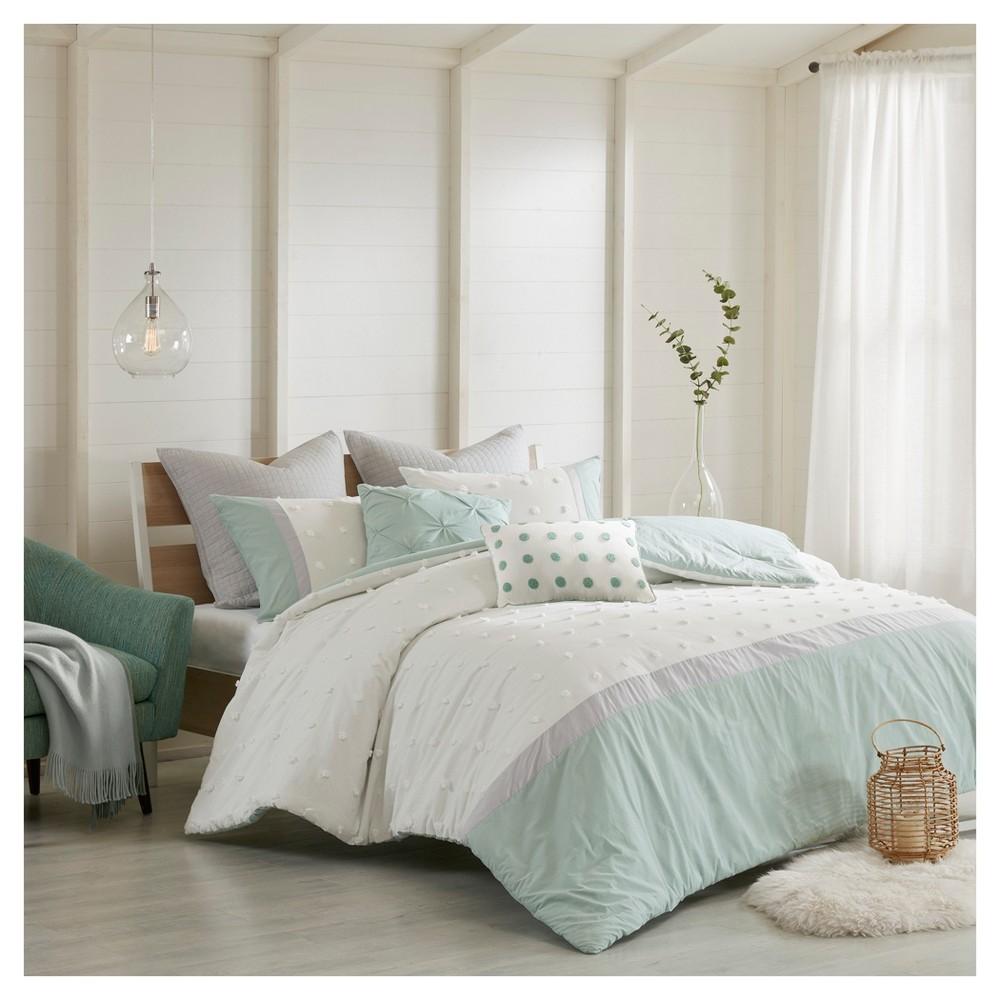 Ivory Kiera Comforter Set (Full/Queen)