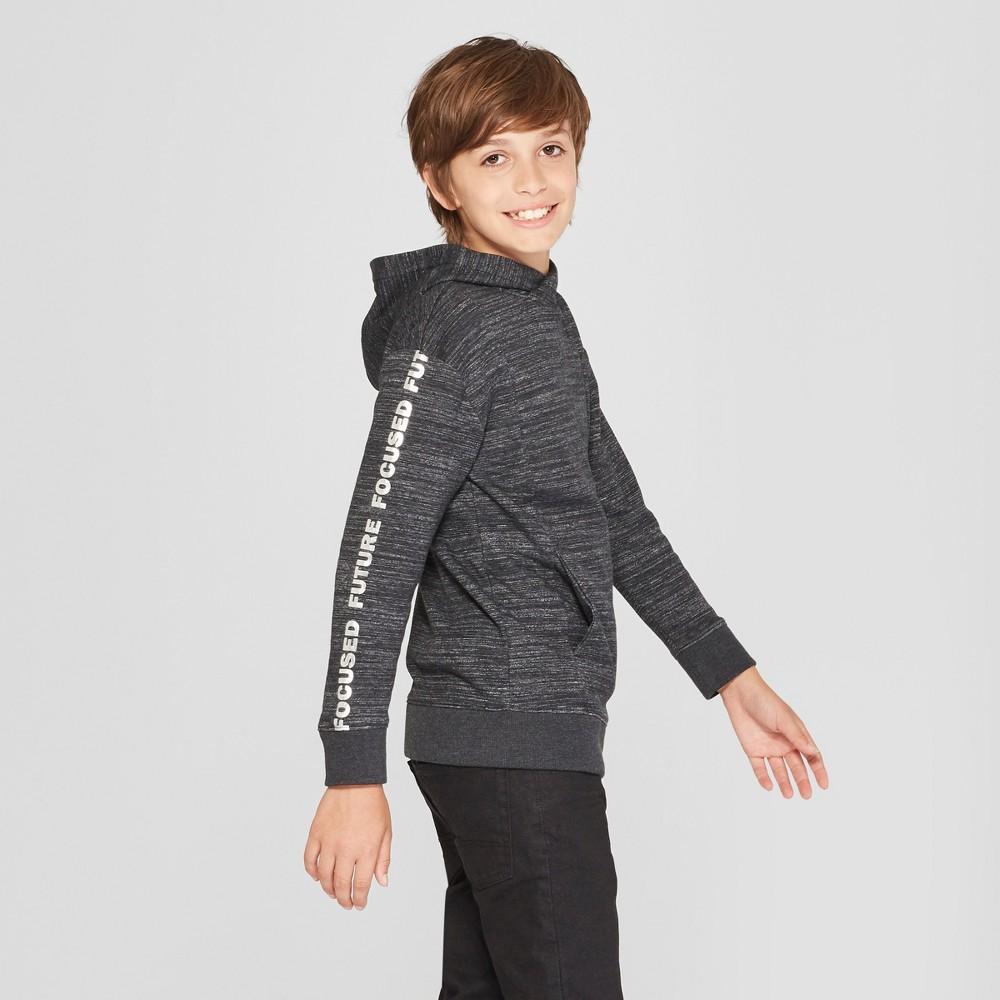 Boys' Future Focused Hooded Sweatshirt - Cat & Jack Black S
