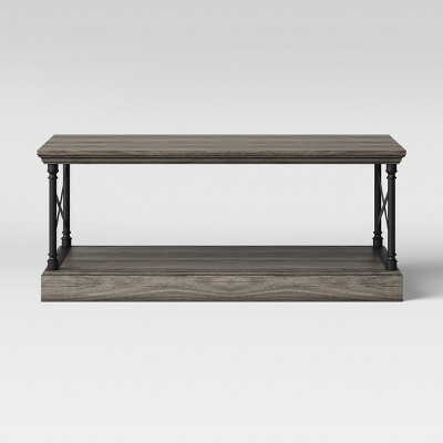 Conway Cast Iron Coffee Table Wood - Threshold™