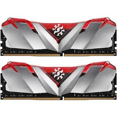 XPG GAMMIX D30 Desktop Memory: 16GB (2x8GB) DDR4 3200MHz CL16 Red - 2pc