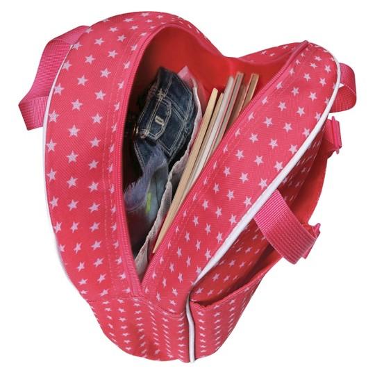 """Badger Basket 18"""" Doll Travel Backpack - Star Pattern image number null"""