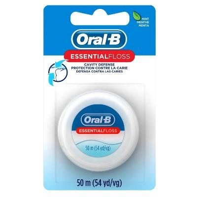 Oral-B Mint Essential Floss - 54yd