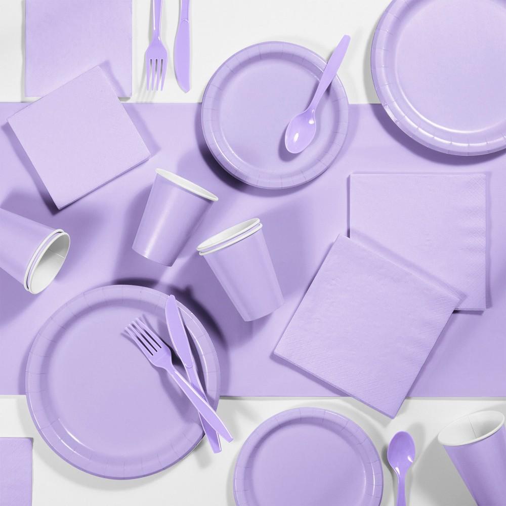 245pk Party Supplies Kit Lavender Discounts