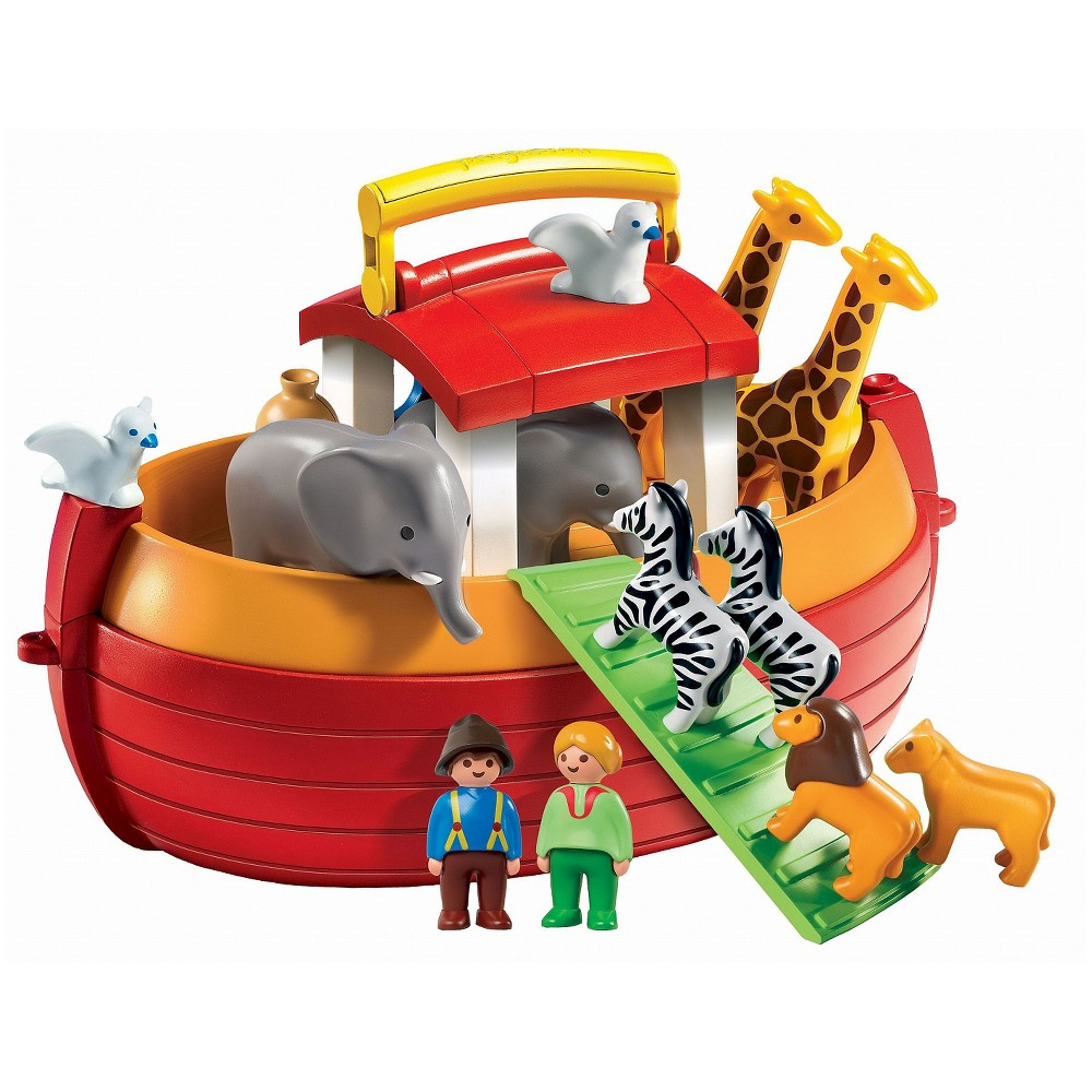 Playmobil My Take Along 1.2.3 Noahs Ark, Multi-Colored