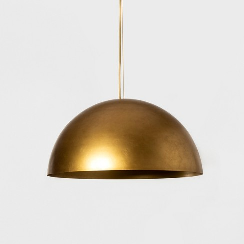 Metal Dome Pendant Lamp (Includes Energy Efficient Light Bulb) + Leanne Ford  - Project 62™ - image 1 of 4