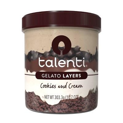 Talenti Gelato Layers Cookies & Cream - 10.7oz