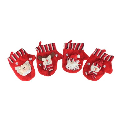 CMI 10-Piece Red Classics Christmas Stocking and Novelty Gift Bag Set - image 1 of 4