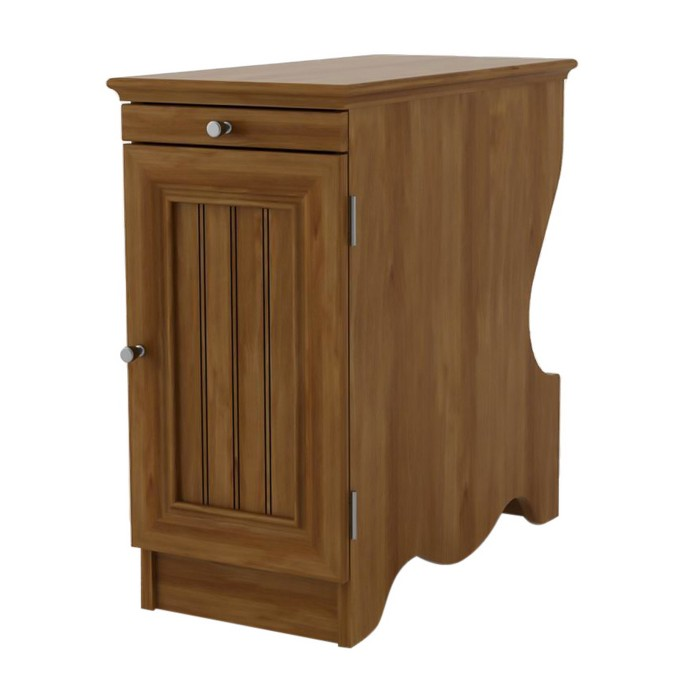 Chester Side Table with Magazine Storage -  Medium Brown - Room & Joy - image 1 of 4