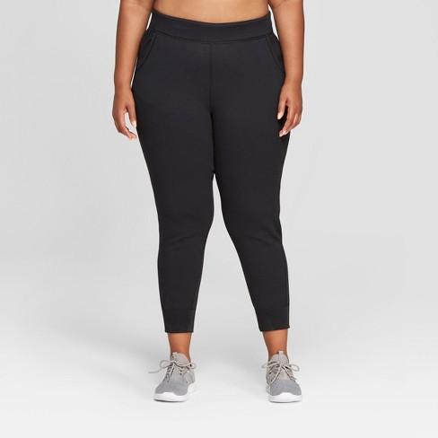 Women's Plus Size Tech Fleece Pants - C9 Champion® Black 4X - image 1 of 2