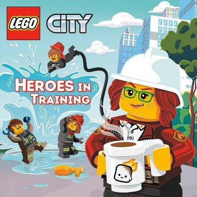 Heroes in Training (Lego City) - (Pictureback(r)) by  Random House (Paperback)