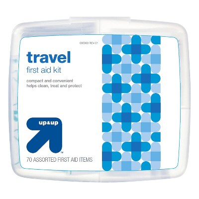 Travel First Aid Kit - 70pc - Up&Up™
