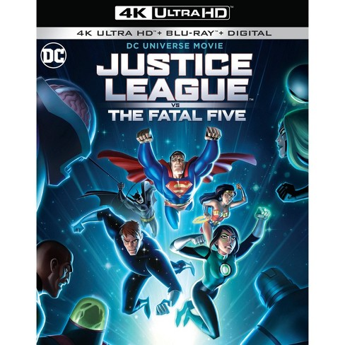 DCU: Justice League vs The Fatal Five (4K/UHD)