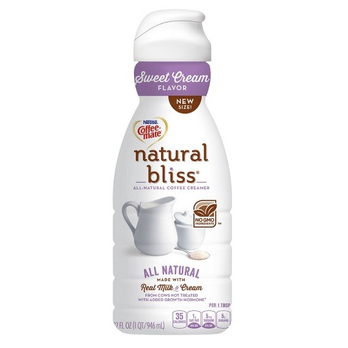 Coffee Mate Natural Bliss Sweet Cream Coffee Creamer - 32 fl oz - image 1 of 1