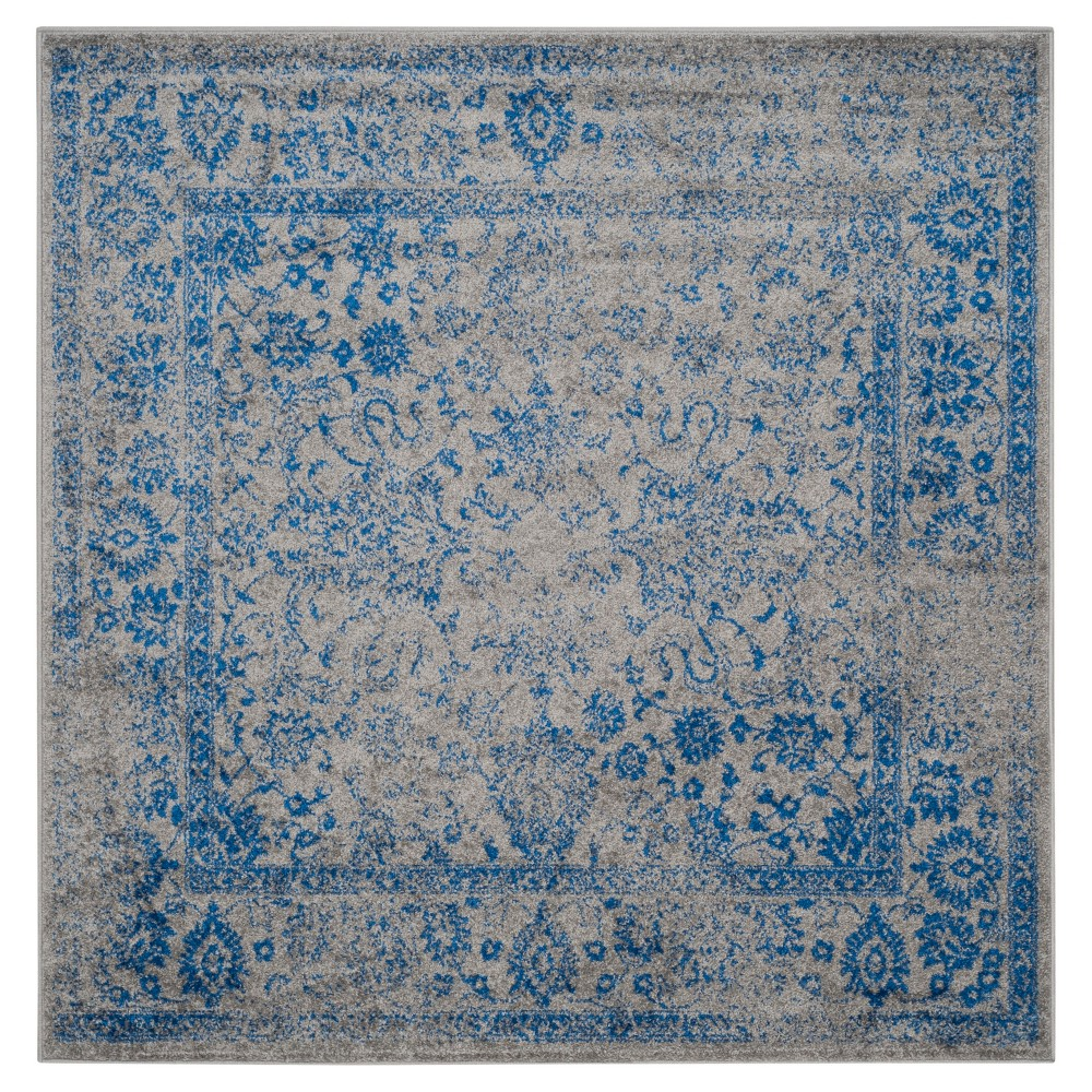 Reid Area Rug - Gray/Blue (10'x10') - Safavieh