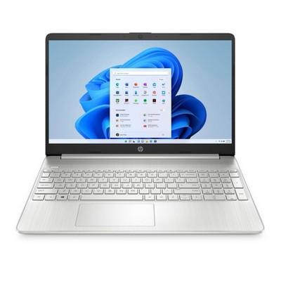 "HP 15.6"" Touchscreen Laptop with Windows Home in S mode - AMD Ryzen 3 Processor - 4GB RAM Memory - 256GB SSD Storage - Silver (15-ef1041nr)"