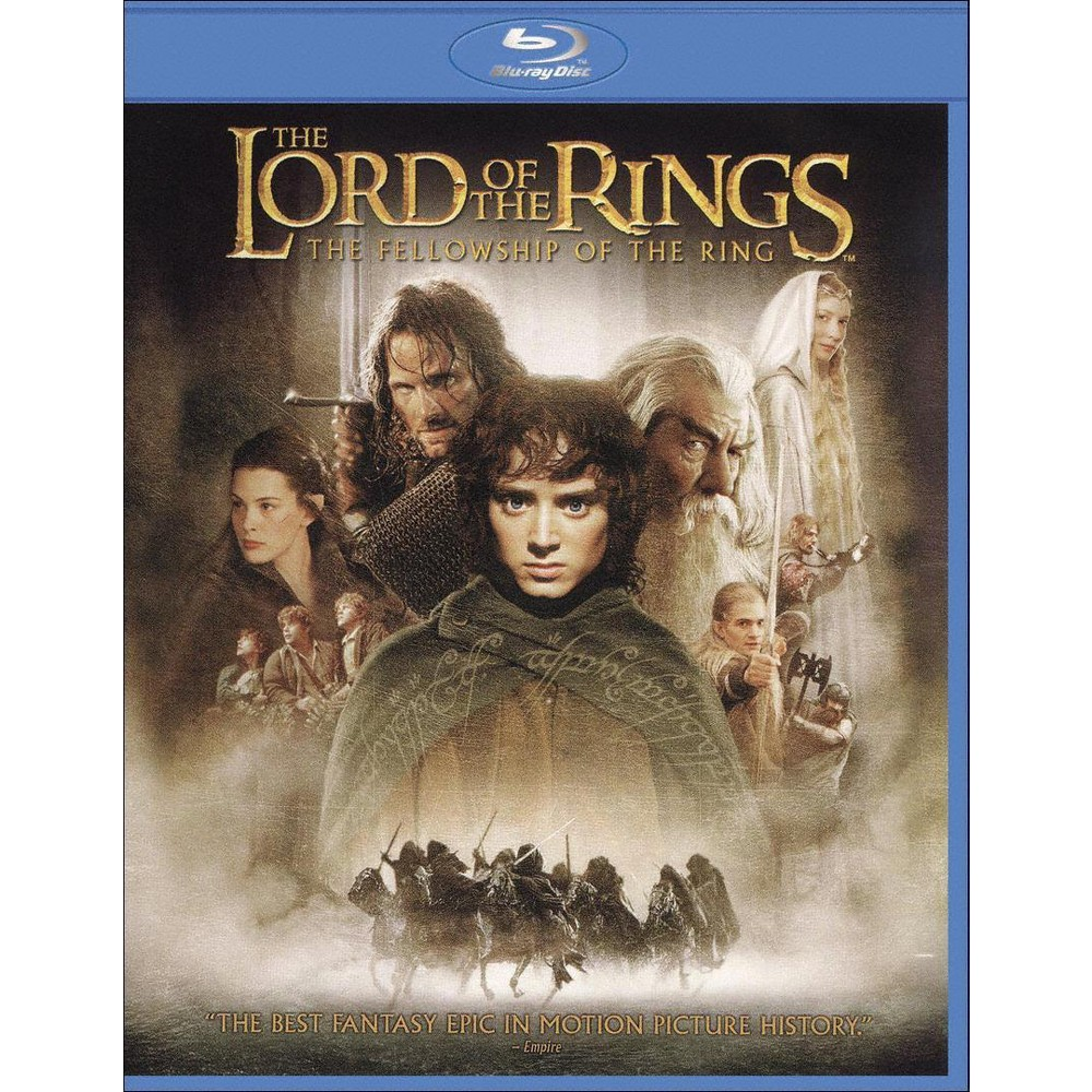 The Lord Of The Rings Fellowship Of The Ring Blu Ray Dvd