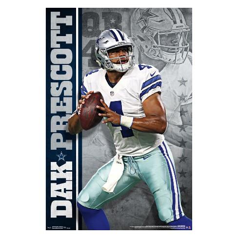 a2c4a260792 Dallas Cowboys Dak Prescott Unframed Wall Poster : Target