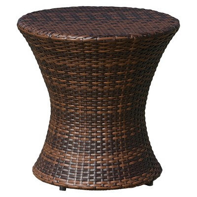 Adriana Wicker Patio Accent Table - Christopher Knight Home