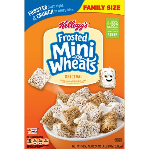 Image result for mini wheats cereal
