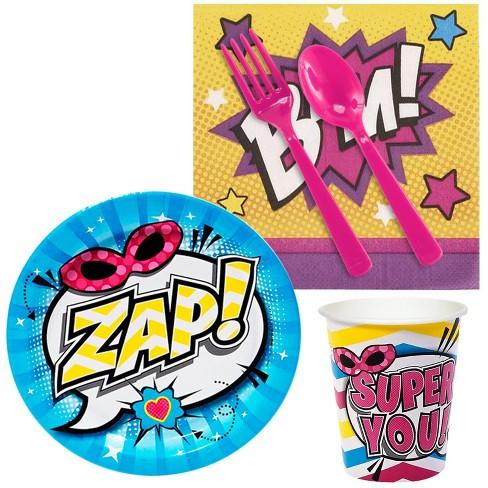 16ct Superhero Girl Snack Pack - image 1 of 1
