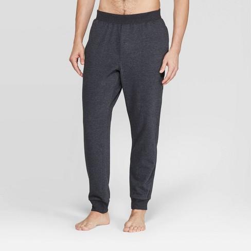 Men's Knit Pajama Pants - Goodfellow & Co™ Black - image 1 of 2