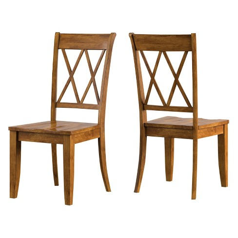 South Hill X Back Dining Chair 2 in Set - Inspire Q® - image 1 of 3