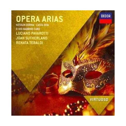 Luciano Pavarotti - Virtuoso: Opera Arias (CD) - image 1 of 1