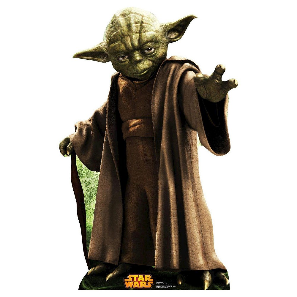Image of Star Wars Yoda Stand Up, Multi-Colored