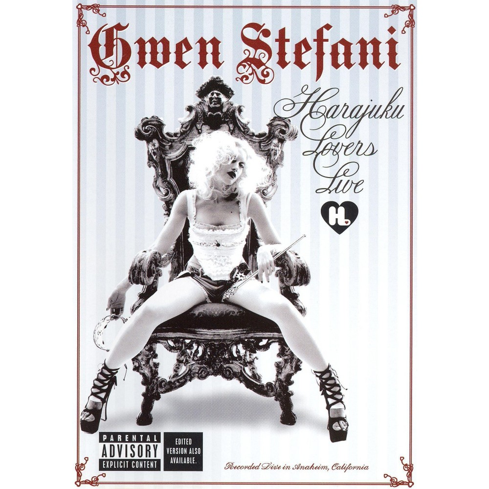 Gwen Stefani: Harajuku Lovers Live (dvd_video)