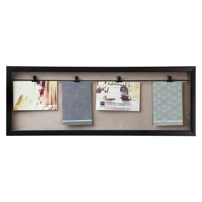 Loft by Umbra Horizontal 4 Clip Photo Line Frame