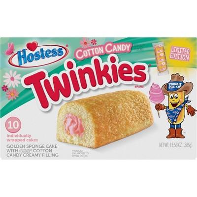 Hostess Cotton Candy Twinkies - 10ct/13.58oz