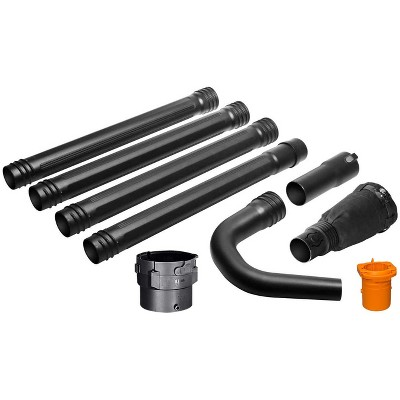 Worx WA4094 Universal Gutter Cleaning Kit, 11' Reach, Universal Adapter, TRIVAC and TURBINE FUSION Adapter, Fits: All Blowers