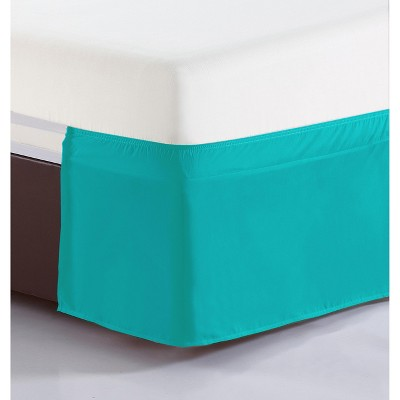 De Moocci Easy-On Easy-Off Blushed Microfiber Tailored Bedskirt