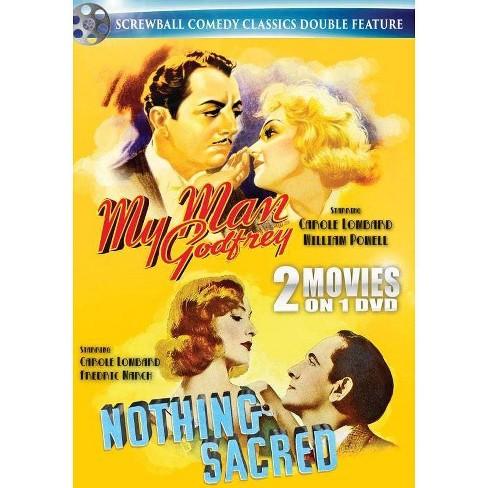 Screwball: My Man Godfrey / Nothing Sacred (DVD) - image 1 of 1